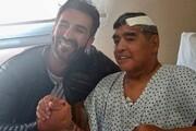 آزمایش در مقر پلیس | قلب مارادونا را از تنش بیرون آوردند