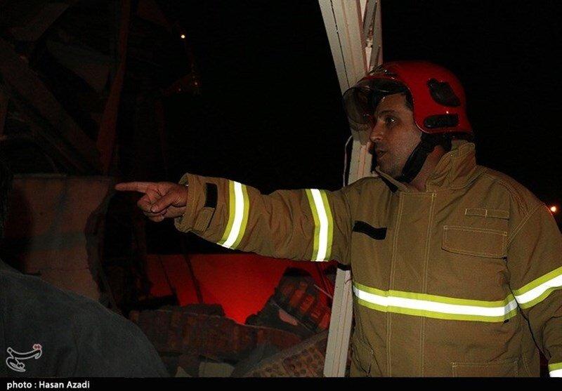 آتشنشانی - سنندج