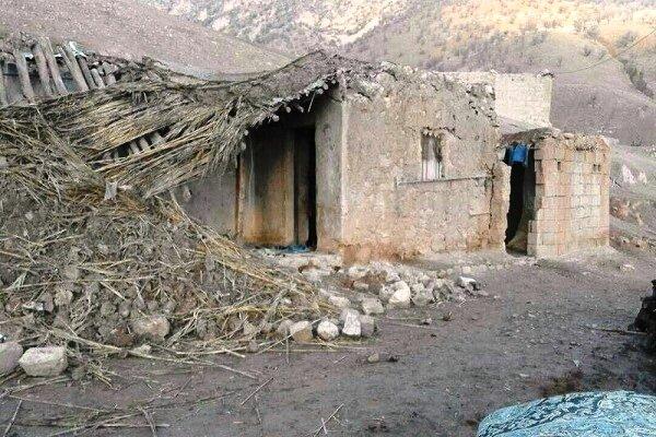 تخریب خانههای روستایی