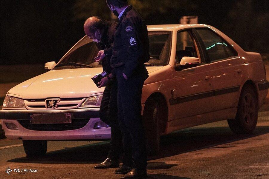مخدوش کردن پلاک خودرو در زمان تردد ممنوع
