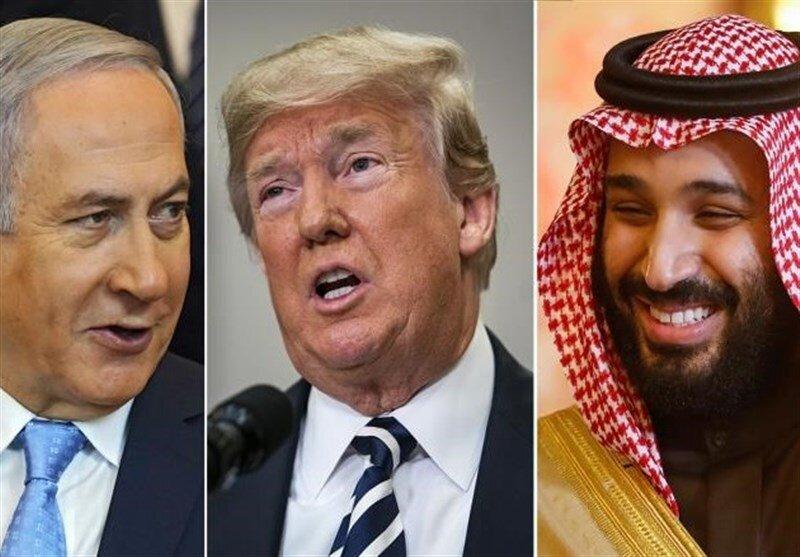 نتانیاهو - پمپئو - بن سلمان