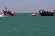 نجات سرنشینان شناور صیادی در خلیج فارساز مرگ حتمی