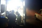 نجات یک مصدوم در ارتفاعات هوراند