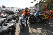 تسهیلات ویژه برای ترخیص موتورسیکلتهای توقیفی