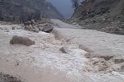 آسیب سیل به جادههای شمال سیستان و بلوچستان