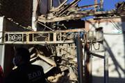 فیلم | انفجار گاز در خانه و انتقال شش مصدوم حادثه خرمآباد به بیمارستان