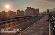 تصاویر | پایان عملیات اجرایی تقاطع غیرهمسطح کلیدی در غرب تهران | دسترسی غرب به شرق پایتخت تسهیل شد