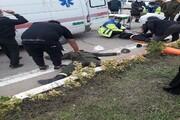 راننده سابقهدار دو پلیس را زیر گرفت و بازداشت شد
