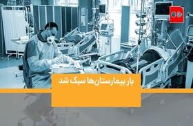 همشهری TV | آیا تعداد بیماران کرونایی در بیمارستانها کم شده؟