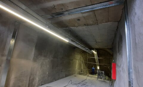 وضعیت پروژه احداث زیرگذر گلوبندک | سه چهارم عملیات پیش رفت؛ افتتاح ضلع غربی زیرگذر در اوایل زمستان