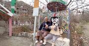 خانهای از نقش و رنگ | نقاشی های عجیب پیرمرد روستایی