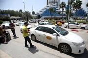 تحصن رانندگان تاکسی در جزیره کیش