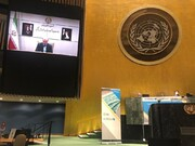 درخواست کمک مالی نمکی از سازمانهای بینالمللی | وزیر بهداشت در نشست سازمان ملل چه گفت؟