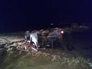 یک کشته و ۹ مصدوم در واژگونی پژو حامل اتباع غیرمجاز