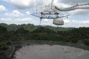ویدئو | لحظه فرو ریختن تلسکوپ غولپیکر آرسیبو در پورتوریکو