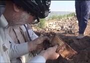 ویدئو | ادامه عملیات تفحص و کشف پیکر شهدا در شرق دجله