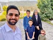 ویدئویی که جهرمی از کوچکترین پسرش منتشر کرد