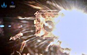 ویدئو |  سفینه فضایی چینی با نمونههای کره ماه به زمین بازمیگردد