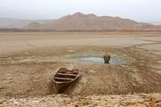 تصاویر | خشک شدن دریاچه سد خاکی عبدلآباد بجنورد
