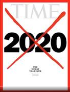 روی جلد مجله تایم: ۲۰۲۰ بدترین سال تا به حال