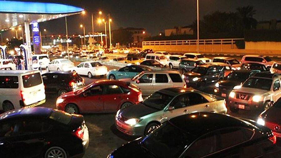 هجوم مردم عربستان به پمپ بنزینها