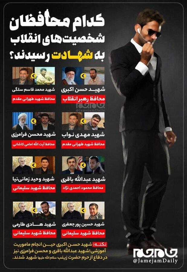 4525165 - کدام محافظان رهبر انقلاب، احمدی نژاد، سردار شهید سلیمانی و ... به شهادت رسیدند؟ | فهرست محافظانی که به شهادت رسیدند