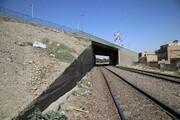 نشت آب در زیرگذر راهآهن سراسری ورامین
