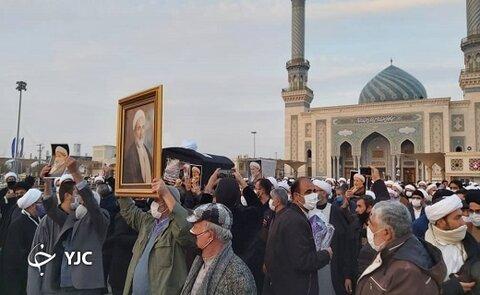 تشییع پیکر آیت الله محمد یزدی