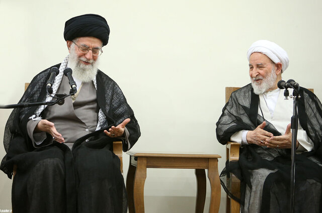 رهبر انقلاب - آیت الله محمد یزدی