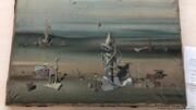نقاشی ۲۸۰ هزار یورویی در سطل زباله پیدا شد