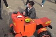 ویدئو | جوان کلالهای ربات کشاورز هوشمند ساخت