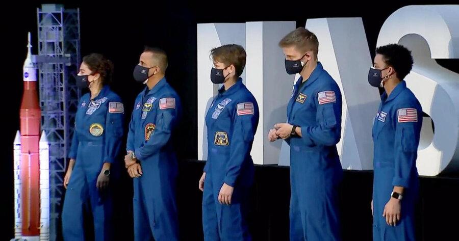 فضانوردان پروژه آرتمیس