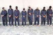 بازداشت هشت دزد غیربومی در ایلام
