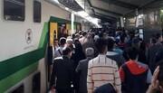 ماجرای اختلال در حرکت قطارهای مترو کرج - تهران چه بود؟