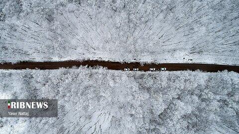 برف پاییزی هزارجریب