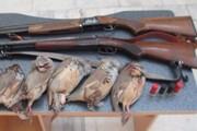 کشف ۸ کبک و بازداشت ۴ شکارچی در کاکان