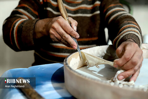 سنندج مهد هنر دف سازی ایران