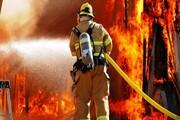 آتشسوزی در باغ سپهسالار و سوختن یک مرد جوان