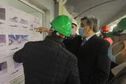بازدید میدانی شهردار تهران از روند پیشرفت پروژه احداث زیرگذر گلوبندک