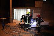 انفجار اسپری چسب یک خانه را در مشهد خراب کرد