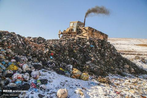 دود زباله ها در چشم طبیعت بکرترین منطقه بجنورد