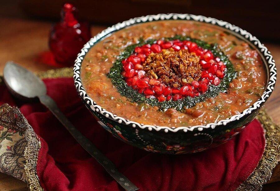 آش انار - تغذيه - آشپزی - آشپزي - تغذيه - تغذیه