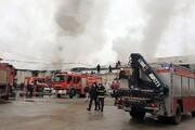 آتشسوزی درکارخانه چوکامهار شد