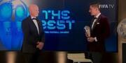 برگزاری مراسم بهترینهای فوتبال جهان | پایان دوران مسی و رونالدو؛ لواندوفسکی برترین بازیکن سال