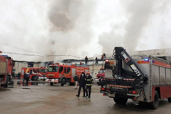 آتش سوزی در چوکا