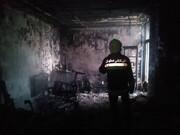 آتشسوزی در منزل مسکونی ۲ طبقه در خانه اصفهان