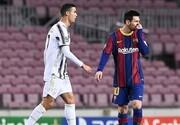تساوی بارسلونا در شب رسیدن مسی به رکورد پله