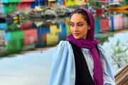تصاویر بازیگر ایرانی که نامزد زیباترین زن جهان شد