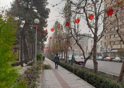 فضاسازي يلدايي معابر تهران