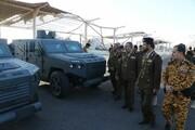 عکس   رونمایی از خودروی زرهی امنیتی یمنی